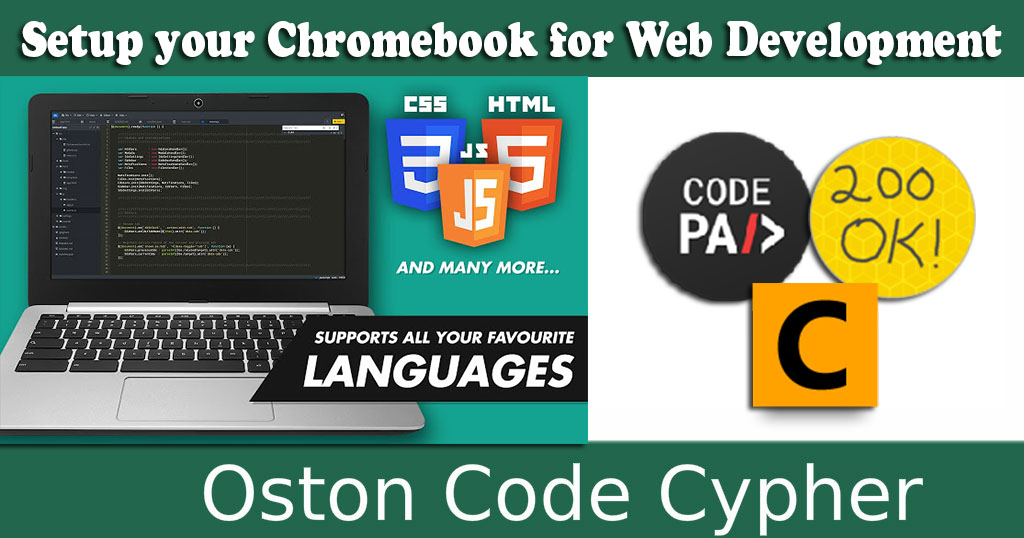 Setup your Chromebook for Web Development