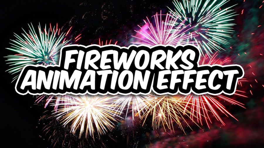 jQuery fireworks animation effects using fireworks js