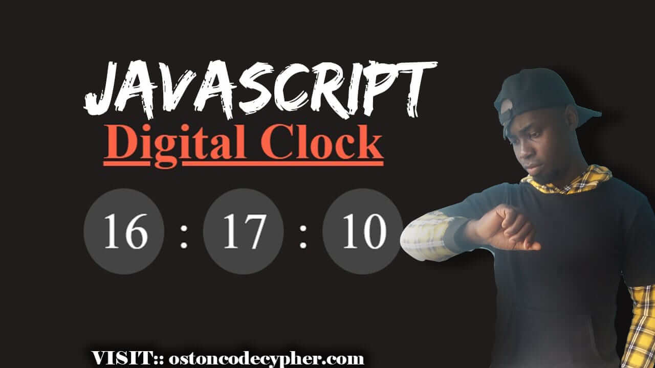 How to create a Digital Clock using JavaScript